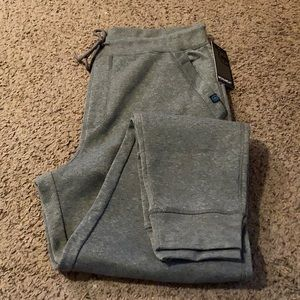 Monument Heather Gray Classic Joggers